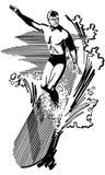 surfer ελεύθερη απεικόνιση δικαιώματος