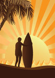 Surfer Stockfoto