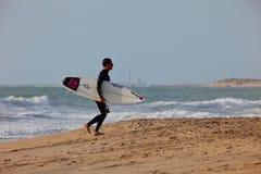 Surfer on 2nd Championship Impoxibol, 2011 Stock Photography