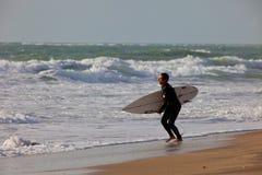 Surfer on 2nd Championship Impoxibol, 2011 Royalty Free Stock Photo
