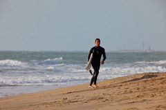 Surfer on 2nd Championship Impoxibol, 2011 Royalty Free Stock Photography