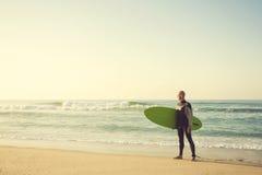 Surfer Stockbild