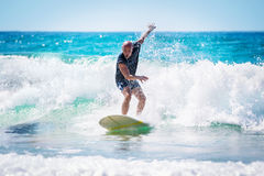 Surfer royalty-vrije stock afbeelding