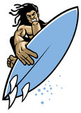 Surfer in action Stock Images