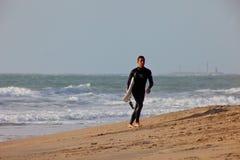 Surfer auf 2. Meisterschaft Impoxibol, 2011 Lizenzfreie Stockfotografie