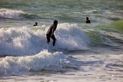 Surfer auf 2. Meisterschaft Impoxibol, 2011 Lizenzfreies Stockfoto