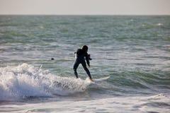Surfer auf 2. Meisterschaft Impoxibol, 2011 Lizenzfreie Stockfotos