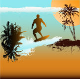 Surfer Background Stock Photos