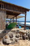 Surfer bar. A surfer bar on a beach in Senegal, west Africa Stock Images