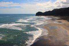 Surfer Beach Royalty Free Stock Image