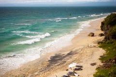 Surfer beach Stock Photography