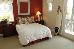Surfer bedroom Stock Images