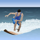 Surfer. Royalty Free Stock Photos