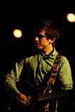 Surfer Blood (band from Florida) perfoms at Sant Jordi Club stage Royalty Free Stock Photos