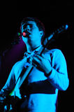 Surfer Blood (band from Florida) perfoms at Sant Jordi Club stage Royalty Free Stock Images