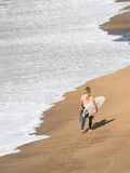 Surfer with board, Victoria Stock Photography