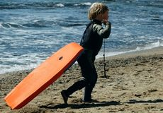Surfer Boy Stock Photo