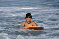 Surfer Boy Royalty Free Stock Image