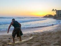Surfer boy Royalty Free Stock Photos