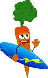 Surfer carrot Stock Images