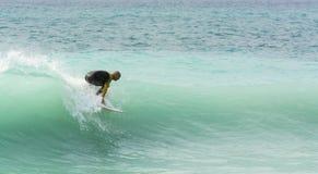 Surfer dans Nice des Frances Photographie stock
