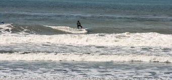 Surfer dans Taiwan Photographie stock libre de droits