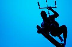 Surfer de cerf-volant Image stock