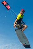 Surfer de cerf-volant Photo libre de droits