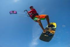 Surfer de cerf-volant Photo stock
