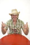 Surfer de cowboy Photo stock