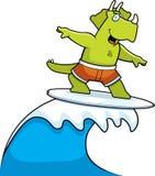 surfer de dinosaur Image libre de droits
