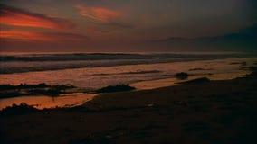 surfer de 16mm la Californie banque de vidéos