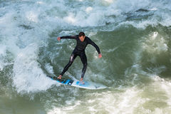Surfer de Munich Image stock