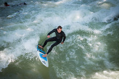 Surfer de Munich Photo stock