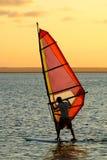 Surfer de vent Photo stock