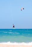 Surfer de vent Photographie stock libre de droits