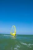 Surfer de vent Photos libres de droits