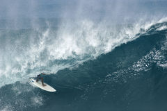 Surfer an der Banzai-Rohrleitung Stockfoto