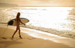 Surfer girl 5 Stock Photography