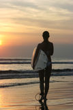 Surfer girl Stock Image