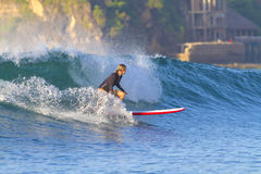 Surfer girl. Royalty Free Stock Photos