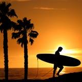 Surfer illustration Stock Photos