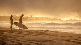 Surfer lifestyle Royalty Free Stock Images