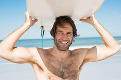 Surfer man Royalty Free Stock Photo