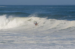 Surfer during the the National Open Stock Photo
