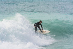 Surfer in Nice France Stock Photos