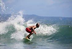 Surfer in ocean Stock Image