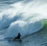 Surfer am perran Lizenzfreie Stockfotografie