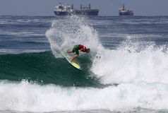 Surfer professionnel Image libre de droits