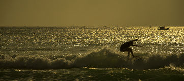 Surfer ` s Morgen Stockbilder